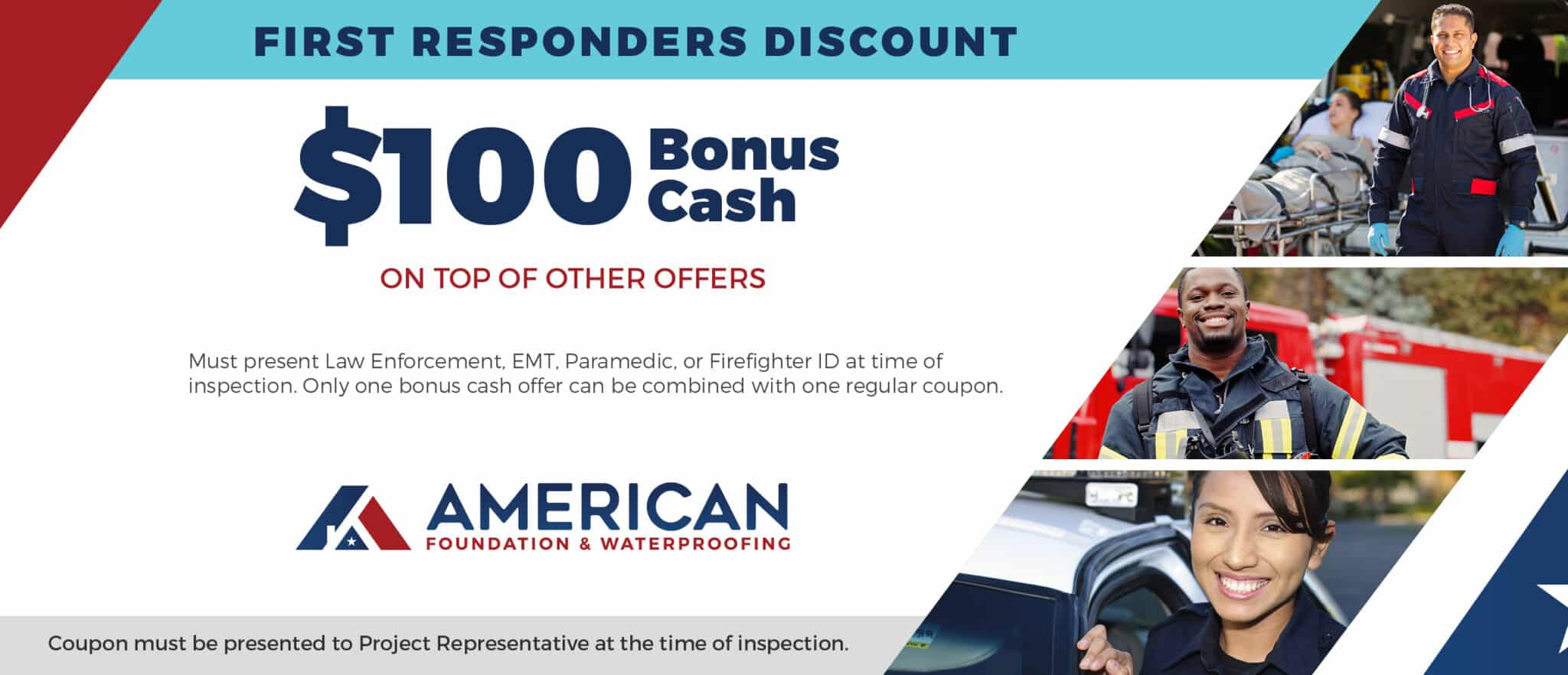 American Foundation Coupon