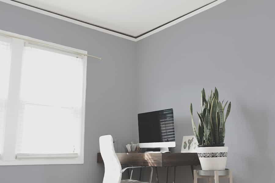 ceiling gap
