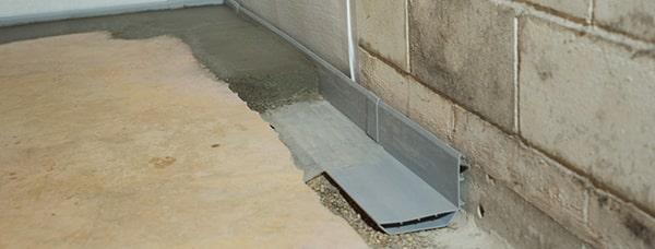 Basement drain system