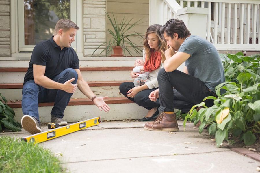 Learning about sidewalk repair