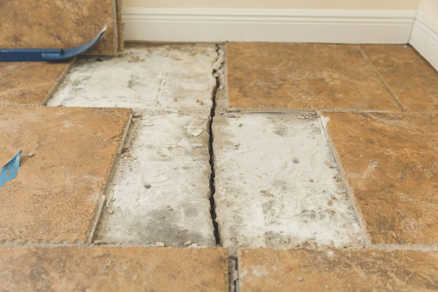 Floor crack repair in Tennessee