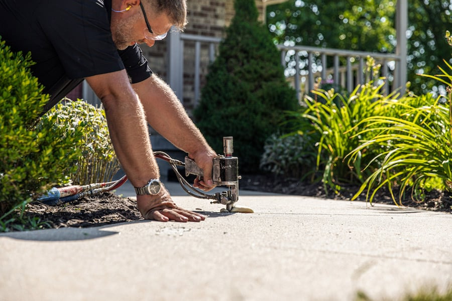 Walkway Leveling and Repair in Knoxville