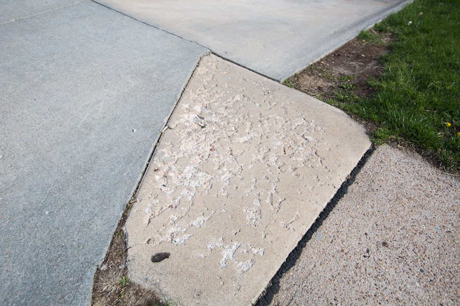 Wear and Tear in concrete
