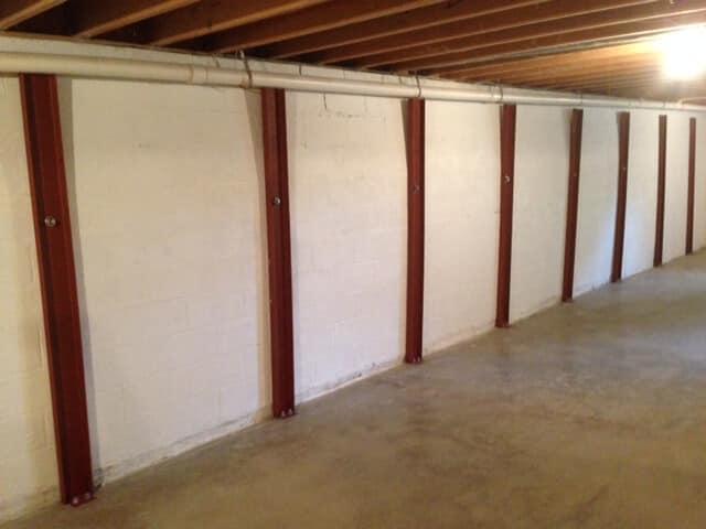 Bowed walls repair knoxville tn