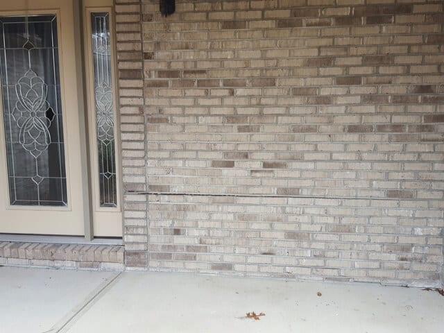 patio at front door