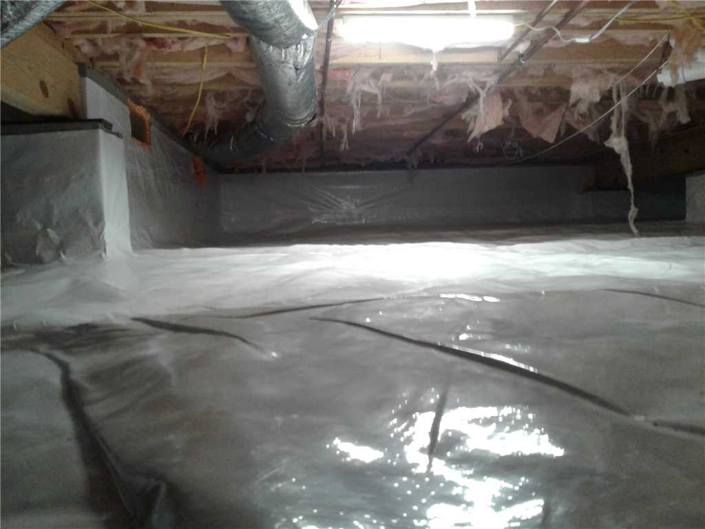Eastern Tennessee crawl space to prevent future issues